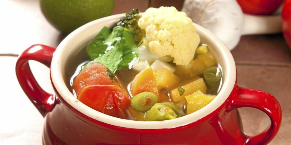 SUPPE: Denne suppen skal øke fettforbrenningen din.