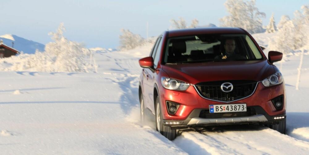 KVIKK: Når det gjelder kjøreegenskaper er Mazda kvikkest og morsomst.