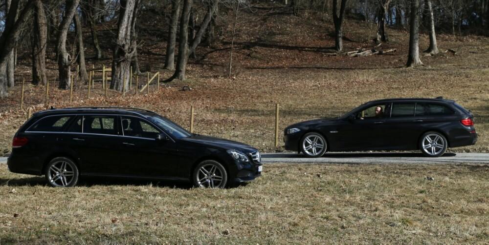 MER LIK: Med den nye E-klassen viskes de klassiske skillene når det gjelder kjøreegenskapene enda mer ut. FOTO: Terje Bjørnsen