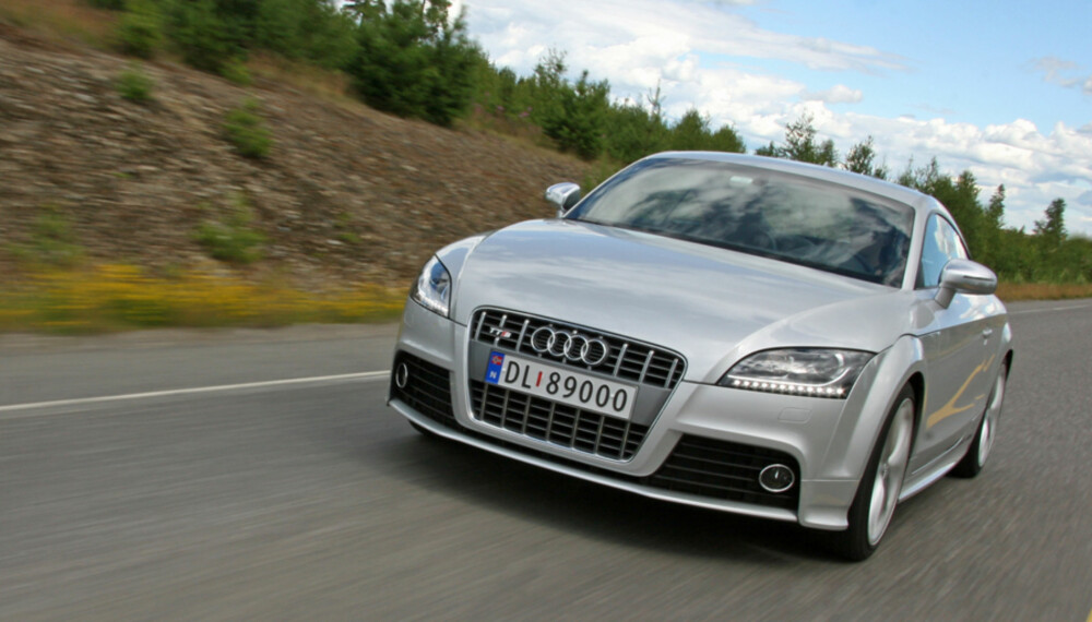 SPORTSLIG: Audis TTS er ikke den råeste tyskerne har i stallen - men den er mer enn rå nok likevel.
