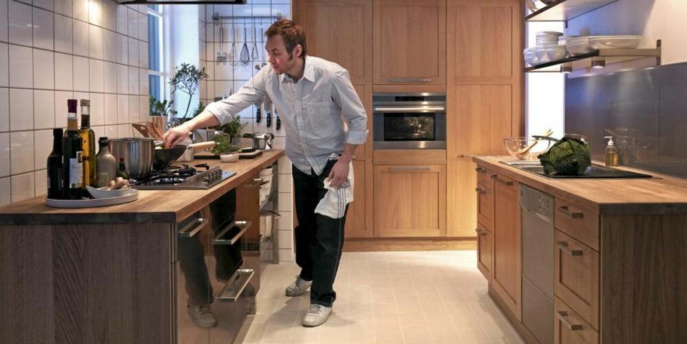 Er du en som trives på kjøkkenet og bruker benkeplatene dine ofte - bør du behandle dem en gang i året.