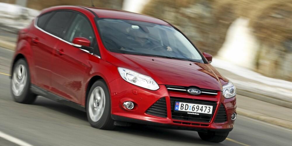 BALANSERT: Focus har et understell som greier spagaten mellom god komfort og spenst i kjørefølelsen meget godt.