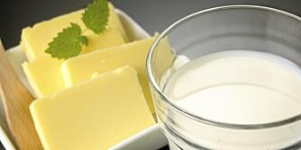 OST OG MELK: Meieriprodukter inneholder mye protein.