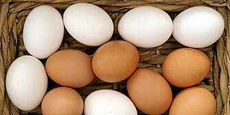 NÆRINGSRIKT: Egg har høyt proteininnhold.