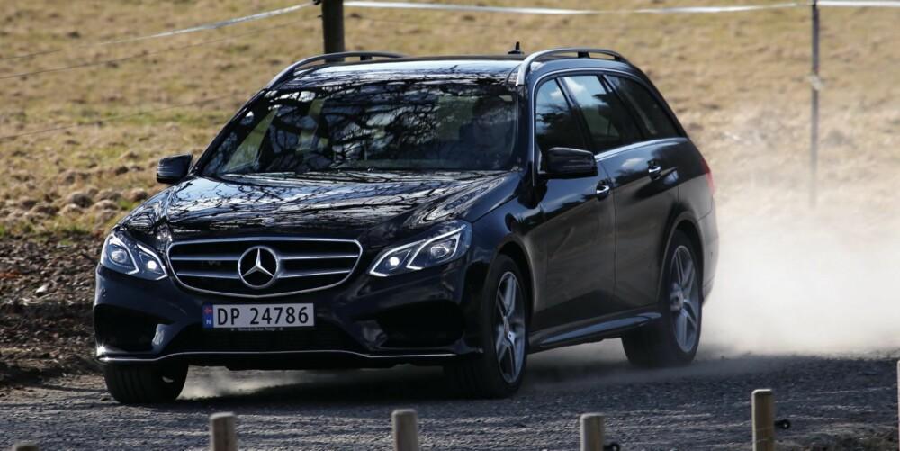 LITT TØRSTERE: I vår faste 20 mil lange forbrukstestløype bruker bilen 0,67 l/mil. Det er en tanke mer enn alternativene fra BMW og Audi. FOTO: Terje Bjørnsen