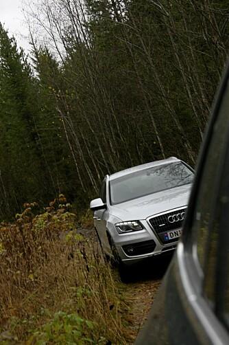 LED-lyktene bidrar positivt til bilens utseende.