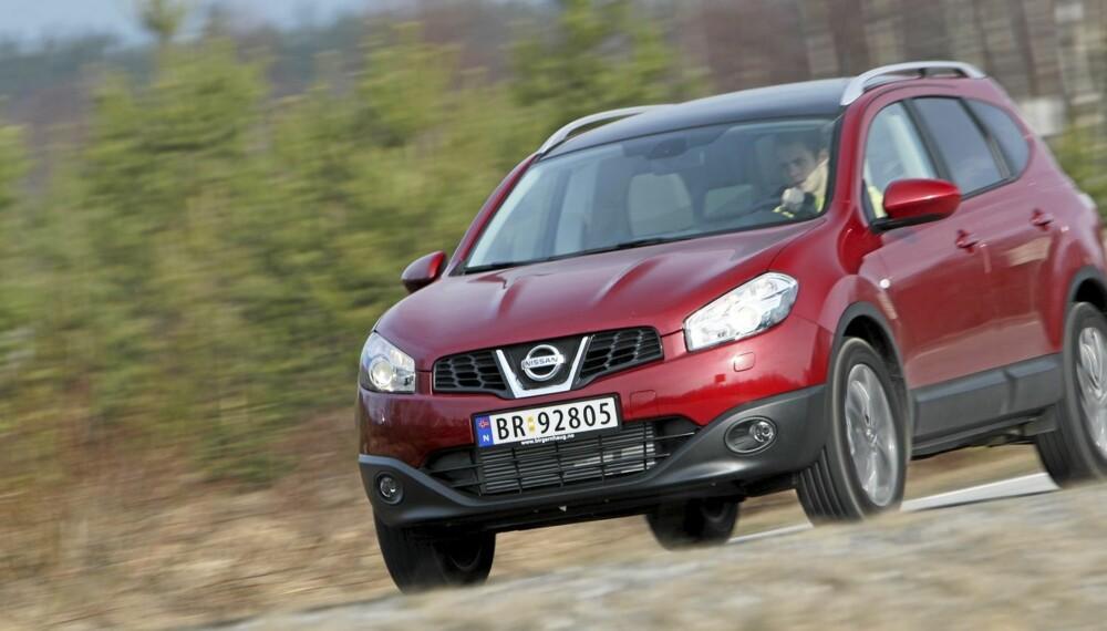 TRIVELIG: Nissan Qashqai+2 er på veldig mange måter en trivelig bil.