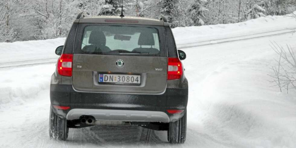 test skoda yeti 2 0 tdi 110 2wd 2010 biltester. Black Bedroom Furniture Sets. Home Design Ideas