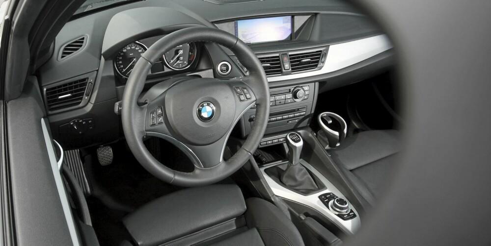 LOGISK: Det er lett å orientere seg i BMW-betjeningen.