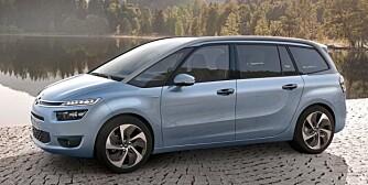 STOREBROR: Citroën C4 Grand Picasso. FOTO: Citroën