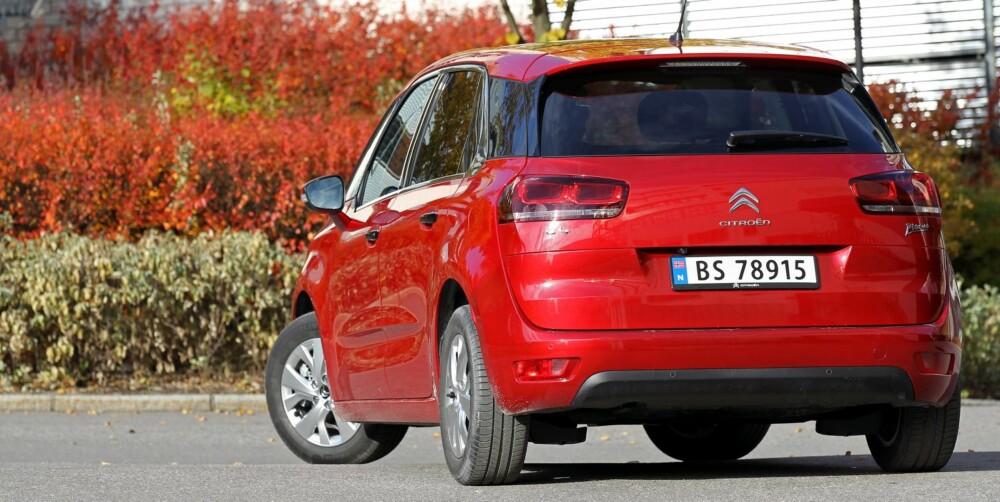 SMART BIL FOR PENGENE: Citroën C4 Picasso koster fra 289 300 kroner. Testbilen koster 353 200 kroner. FOTO: Petter Handeland