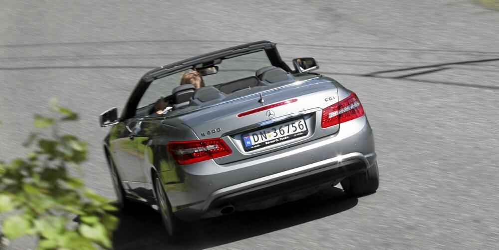 SOLID: Mercedes leveres kjøreegenskaper på det trygge. Veldig spennende er det ikke, men derimot veldig udramatisk.