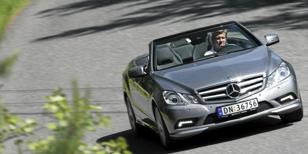 LEKKERBISKEN: Mange vil nok si seg enig at dette er en av verdens vakreste biler.