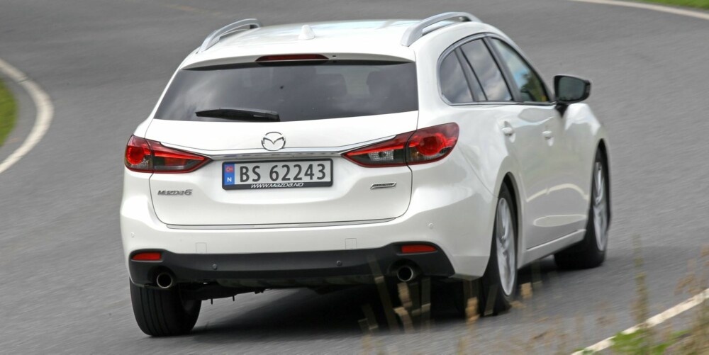 I TEST: Mazda 6. FOTO: Petter Handeland