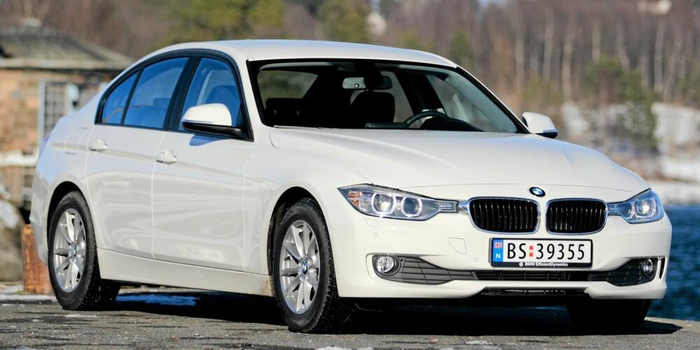 EFFEKTIV: Ifølge normforbruket, skal BMW 320dA Efficient Dynamics bruke 0,41 liter per mil ved blandet kjøring. Det tilsvarer et CO2-utslipp på 109 gram per kilometer.
