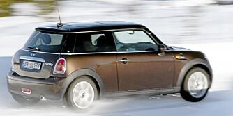SPREKING: Den 115 hk sterke dieselen gir Mini gode ytelser.
