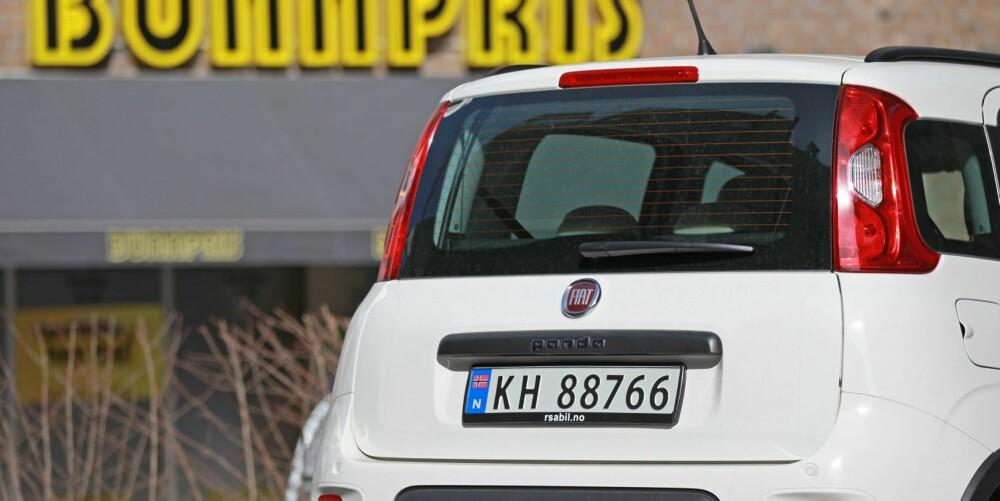 BUNNPRIS: Ingen firehjulsdrevet bil er billigere enn Fiat Panda 4x4. Men så må du også ofre noe på flere andre fronter sammenlignet med andre biler til 200.000 kroner. FOTO: Petter Handeland