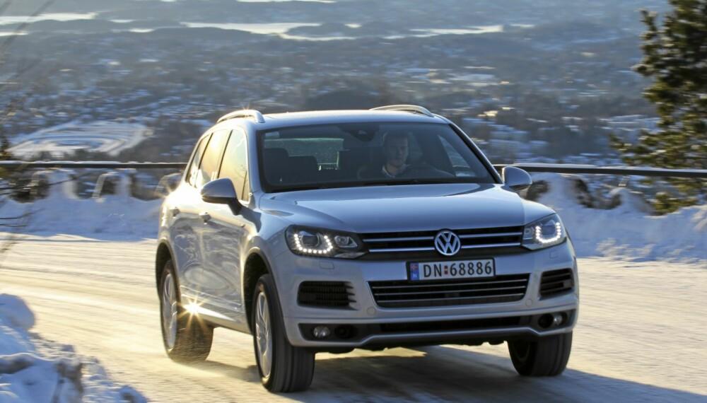 ULV, ULV: VW Touareg med V8-motor ser snill ut, men går som en kule.