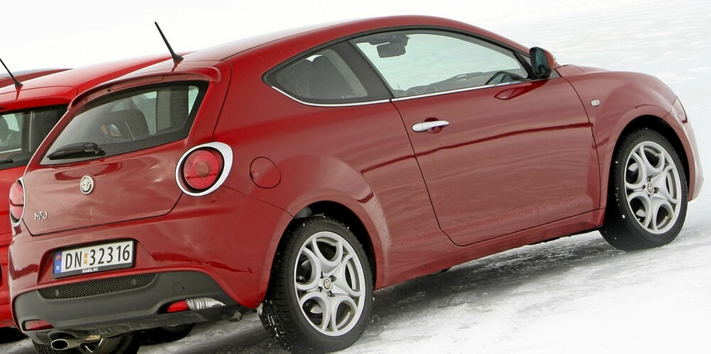 Golsfjellet 10032010 SML Alfa Romeo Mito Fiat 500 Mini D VW Polo Ford Fiesta