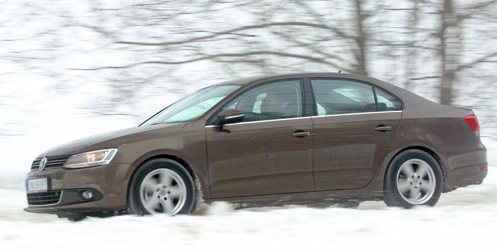 NISJE: Sedaner med utspring fra kompaktbilklassen er ikke storselgere i Norge. FOTO: Egil Nordlien, HM Foto
