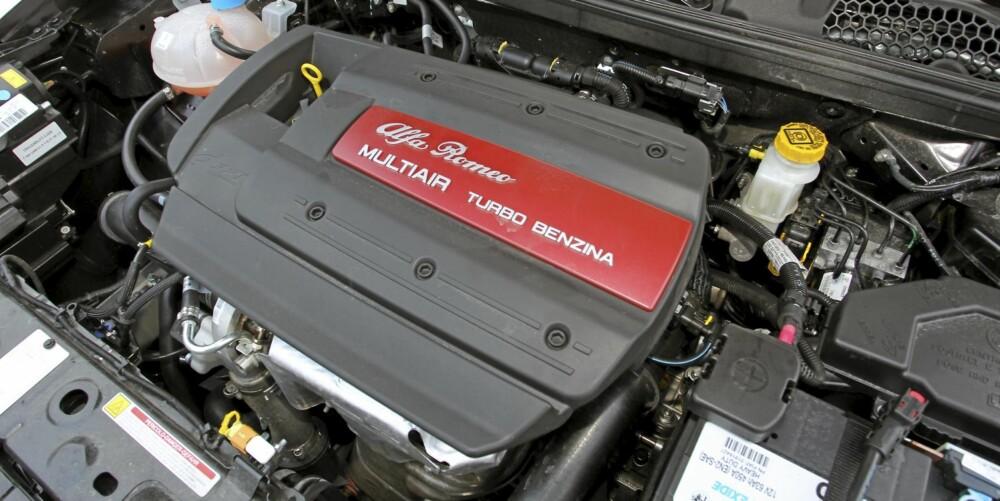 Alfa Romeo Giulietta kommer med en av verdens beste 1,4-liters bensinturbo-motorer.