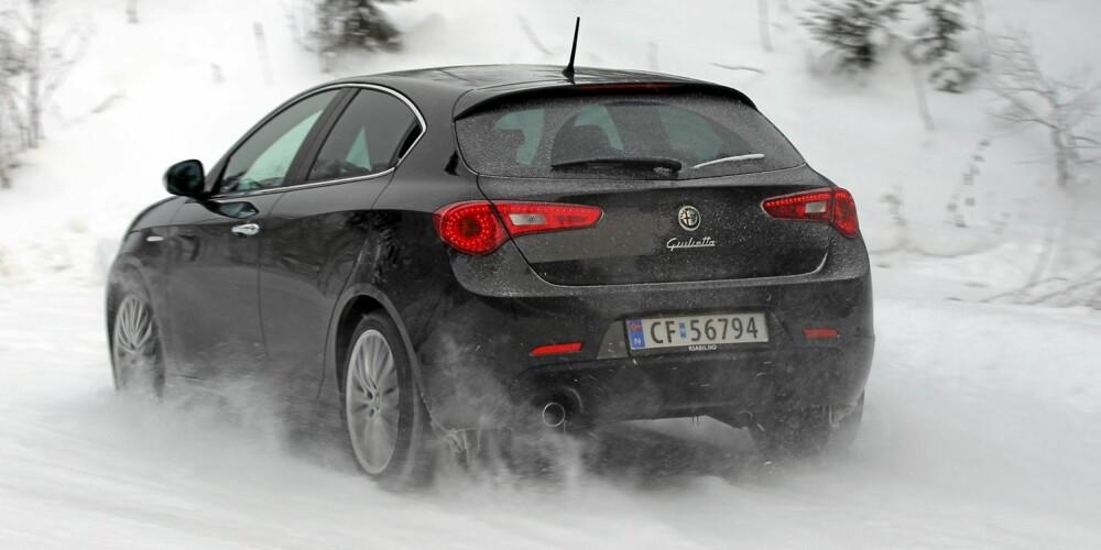 Alfa Romeo Giulietta har et særeget og modern designpreg.