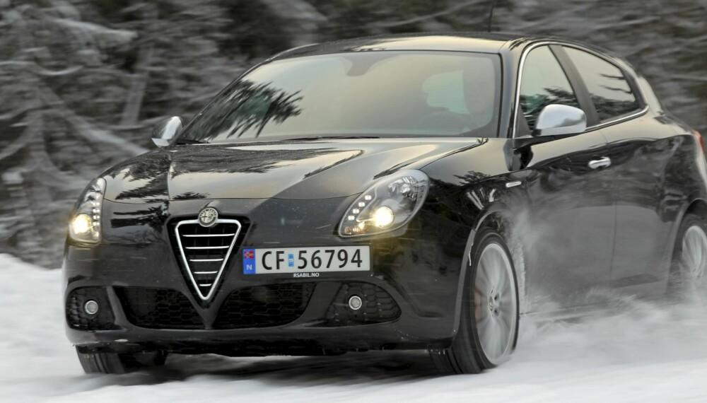 Alfa Romeo Giulietta er en nytelse for øyet og kjøregleden