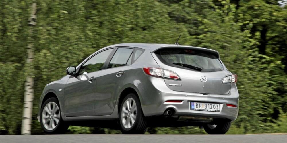 GLAD: Mazda 3 er en kjøreglad bil. Uten at det går på bekostning av komforten.