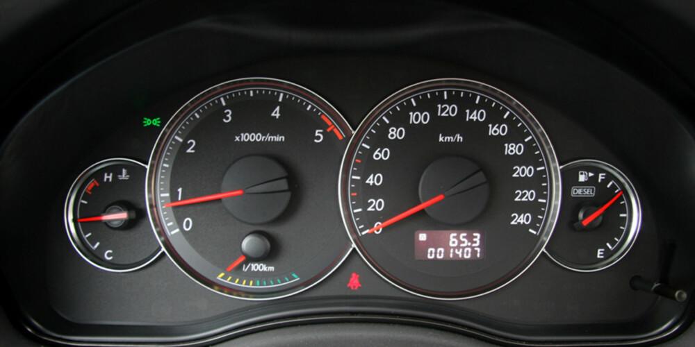 Turtelleren går ikke like høyt som på bensinmotoren, men her er det momentet fra bunn som gjelder.