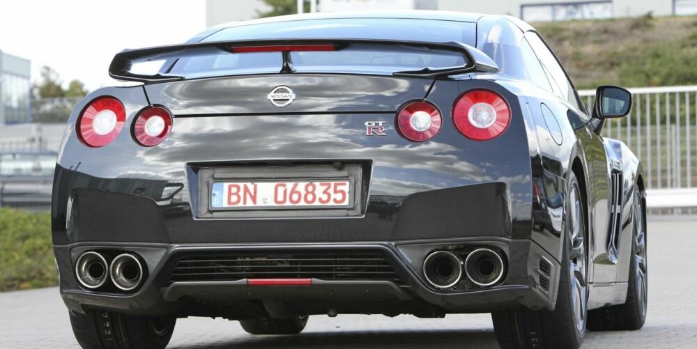 2007: Nissan GT-R ble lansert i 2007. Siden den gang er det foretatt flere justeringer. Foto: Nissan.
