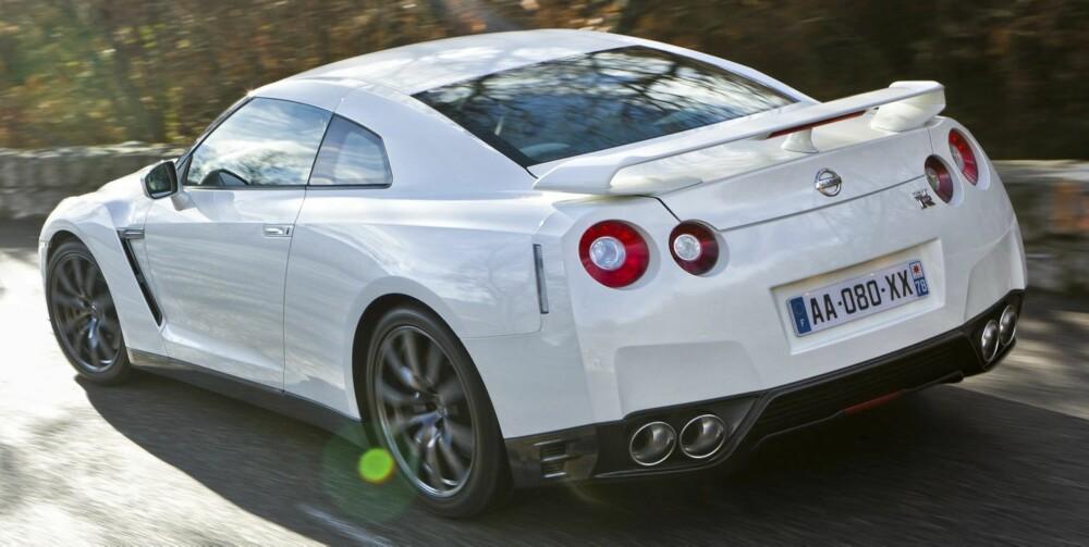 FABELAKTIG: Det er ikke lett å gjengi hvor fabelaktig GT-R er. Foto: Nissan