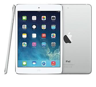 KRAFTIG: Nå er det bare størrelse, vekt og pris som skiller den lille og den store iPad-en. Ytelsen er nesten identisk.