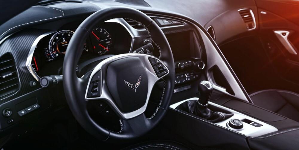 "MODERNE: Ny Corvette har for første gang ¿teknologi"""". FOTO: Weeb Bland"