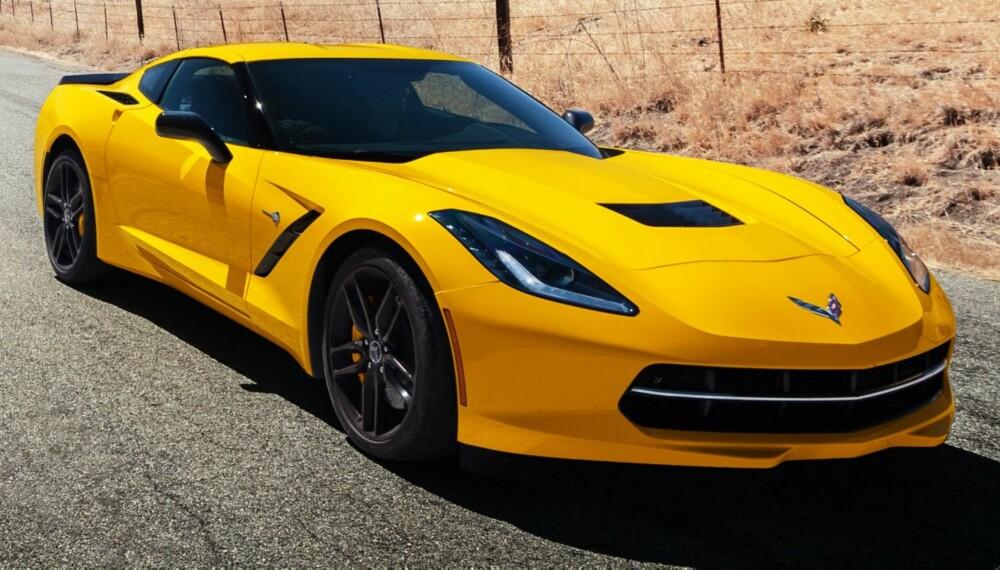TAR FEIL: Det vil alltid finnes grinebitere som avskriver biler som Corvette som helt underlegen biler fra Asia eller Europa. Men de vil få seg en overraskelse. FOTO: Webb Bland
