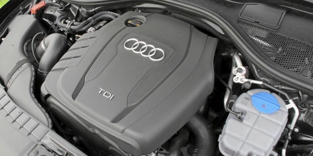 RASK: En to-liters diesel holder i massevis, selv i Audi A6.