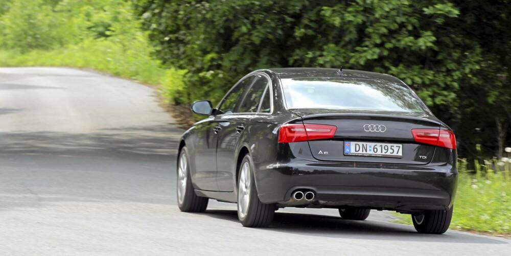 SKARP: Moderniseringen av Audi A6 har vært vellykket.