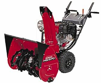 Mellomstor to-trinns: Honda HS970W. Pris: 27490