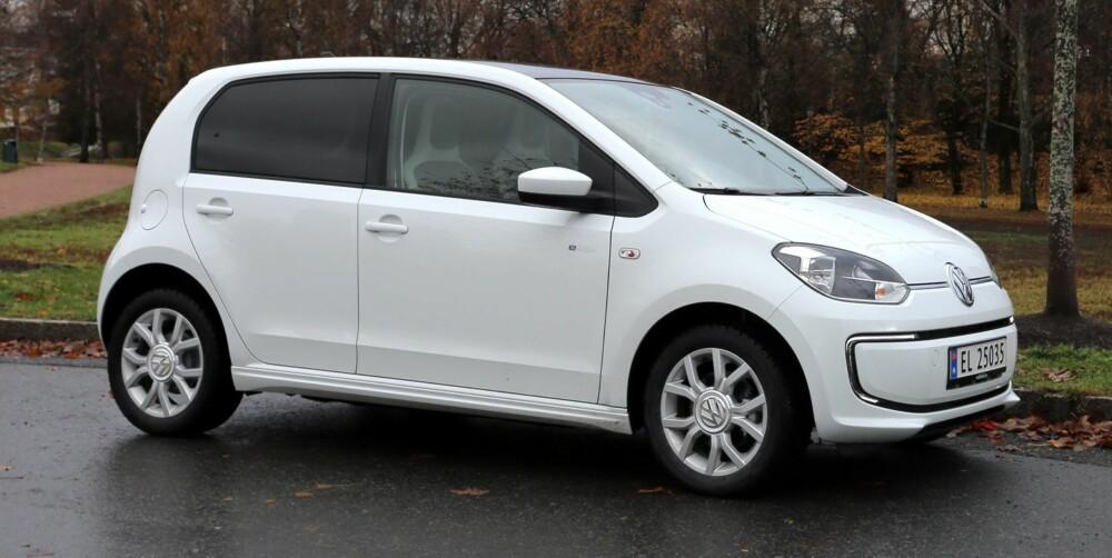 FUNKSJON: VW e-up kjøper du neppe for å ta deg ut, men for å komme smartest mulig fra A til B. FOTO: Terje Bjørnsen