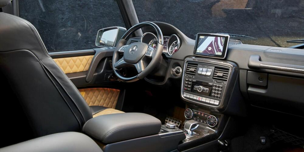 INTERIØR: Mercedes-Benz G 63 AMG