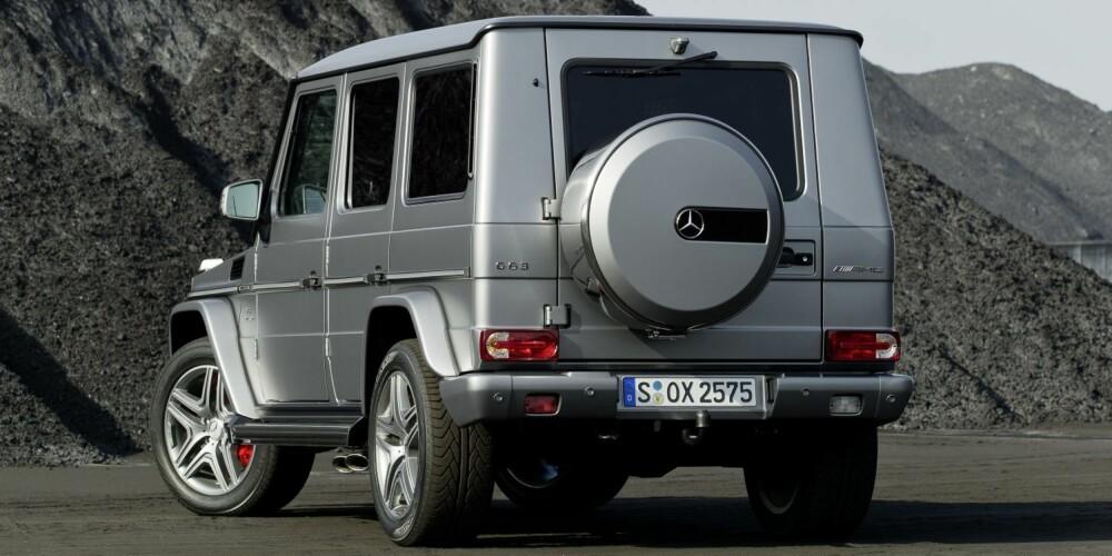 MØT VEGGEN: Mercedes-Benz G 63 AMG
