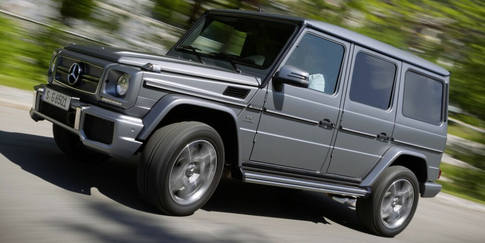 ENDA RÅERE: Mercedes-Benz G 65 AMG