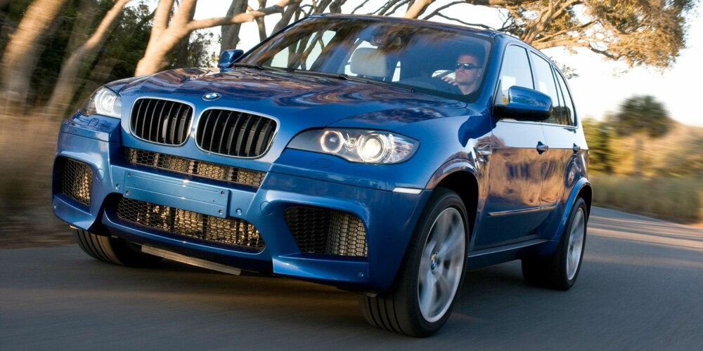 RIVALEN: BMW X5 M. Foto: BMW