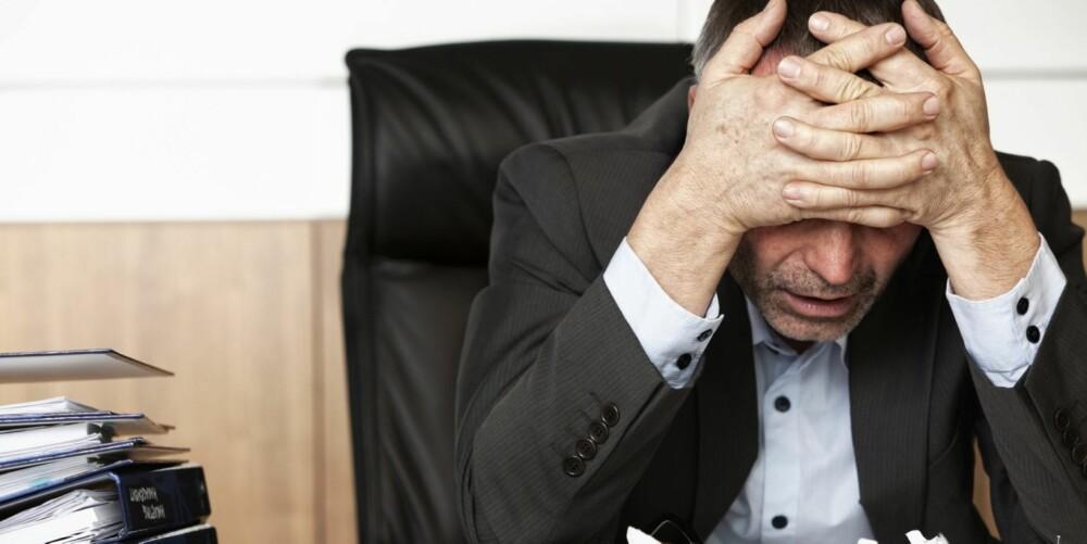 APATISK:  Stadige utsettelser skaper dårlig samvittighet, mangel på kontroll i livet og nedstemthet.