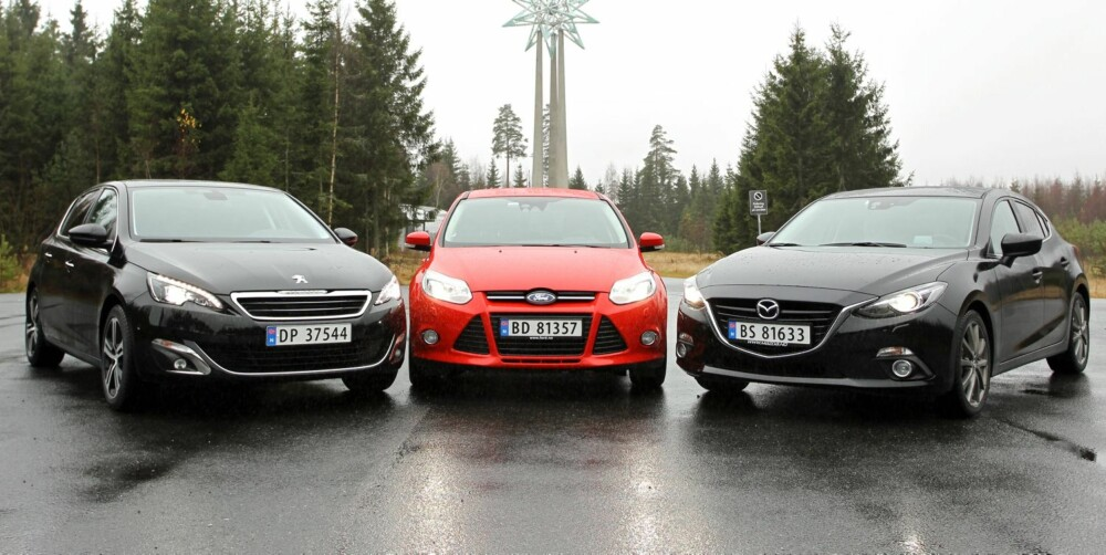 VI MENER: Mazda 3 er en fulltreffer for den som søker full pakke til overkommelig pris.