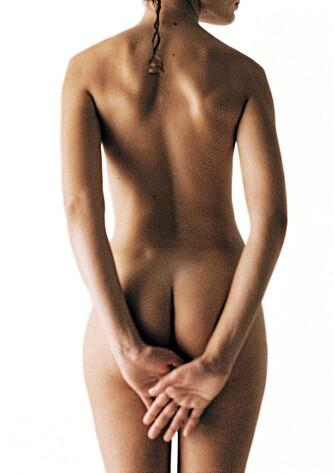 HEMMENDE: Unormalt store kjønnslepper kan være psykisk og seksuelt hemmende. Målet med genitalkorreksjon er å få et harmonisk preg mellom indre og ytre kjønnslepper samt en stram, ikke hengende, ytre genitalregion.