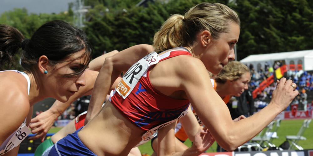 NORGES RASKESTE ERNÆRINGSEKSPERT: Ingvill Måkestad Bovim satte ny pers på 800 meter (2.03.64) og koom på 4. plass under friidretts-EM for lag 1. divisjon i Bergen i fjor sommer.