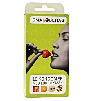 SØTE SAKER: Smak og Behag er Kondomeriets eget kondommerke.