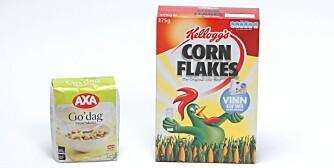 Kelloggs Cornflakes – Axa Go' dag fruktmüsli