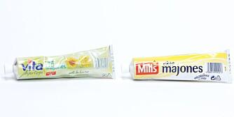 Mills ekte majones - Vita hjertego' lett majones