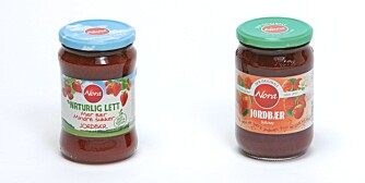 Nora jordbærsyltetøy - Nora naturlig lett syltetøy